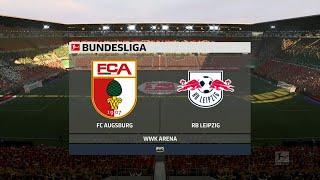 A simulation of the upcoming match in bundesliga, augsburg vs rb leipzig. leipzig - bundesliga (17/10/2020) all goals & extended highlig...