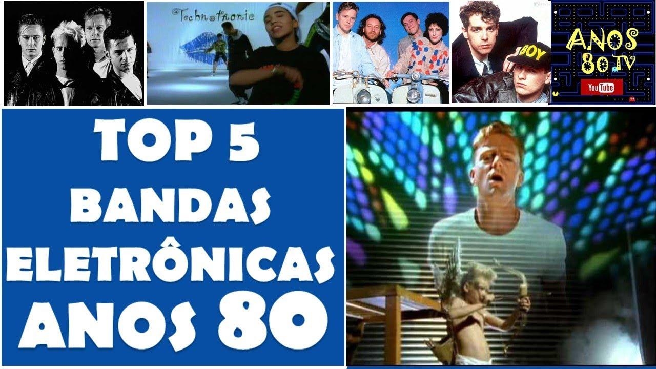 bf68c041b Top 5 Bandas Eletrônicas dos Anos 80 - YouTube