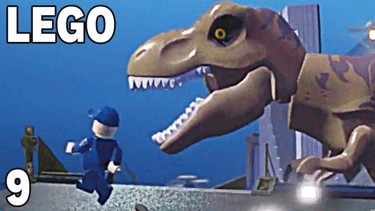 T-REX W MIEŚCIE!!! – LEGO JURASSIC WORLD