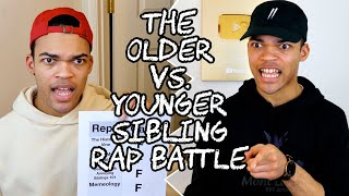 The Older vs. Younger Sibling Rap Battle