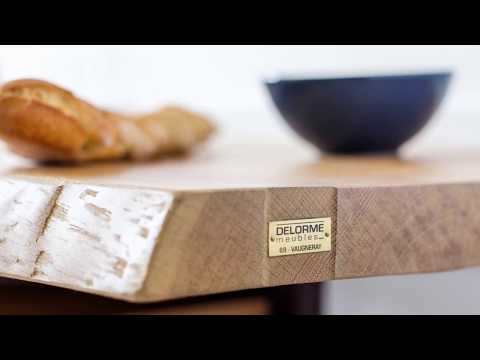 Fabricant français de meubles en bois naturel : DELORME meubles