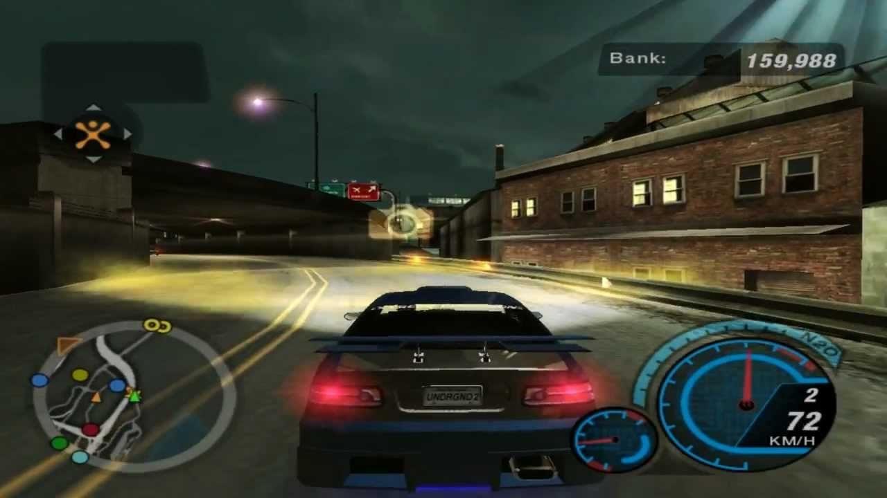 Need For Speed Underground 2 Dvd Cover 10 Blacktop Bandits