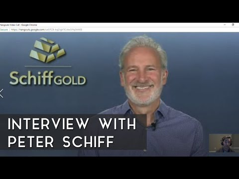 Interview with Peter Schiff (Bitcoin, US Markets, etc.)