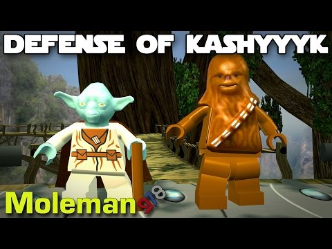 Defense of Kashyyyk! | Lego Star Wars The Complete Saga #16