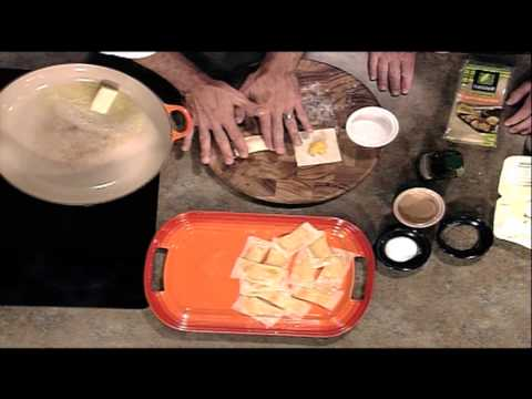RECIPE: Chef Brad Valley's Butternut Squash Ravioli