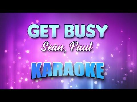Sean, Paul - Get Busy (Karaoke & Lyrics)