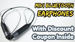 Mivi Collar Bluetooth Earphones | Great Value F...