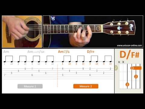 Jouer Stairway to heaven (Led Zeppelin) - Cours guitare. Tuto + Tab