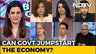 The Big Fight | Growth Forecast Down: Is Economy In Free Fall?
