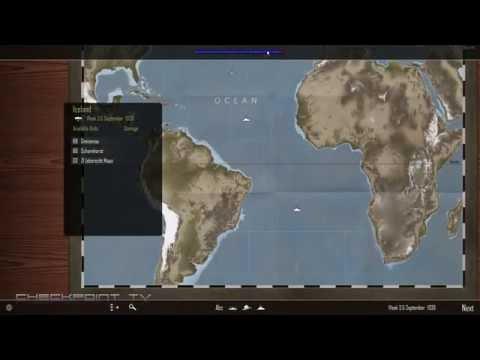 Atlantic Fleet Gameplay #02 - Campaign as Germany Kriegsmarine