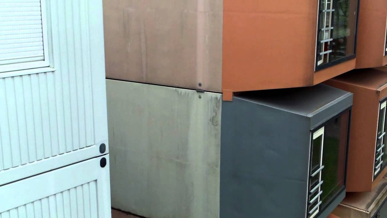 cheap small student houses ,shipping container city space box r4