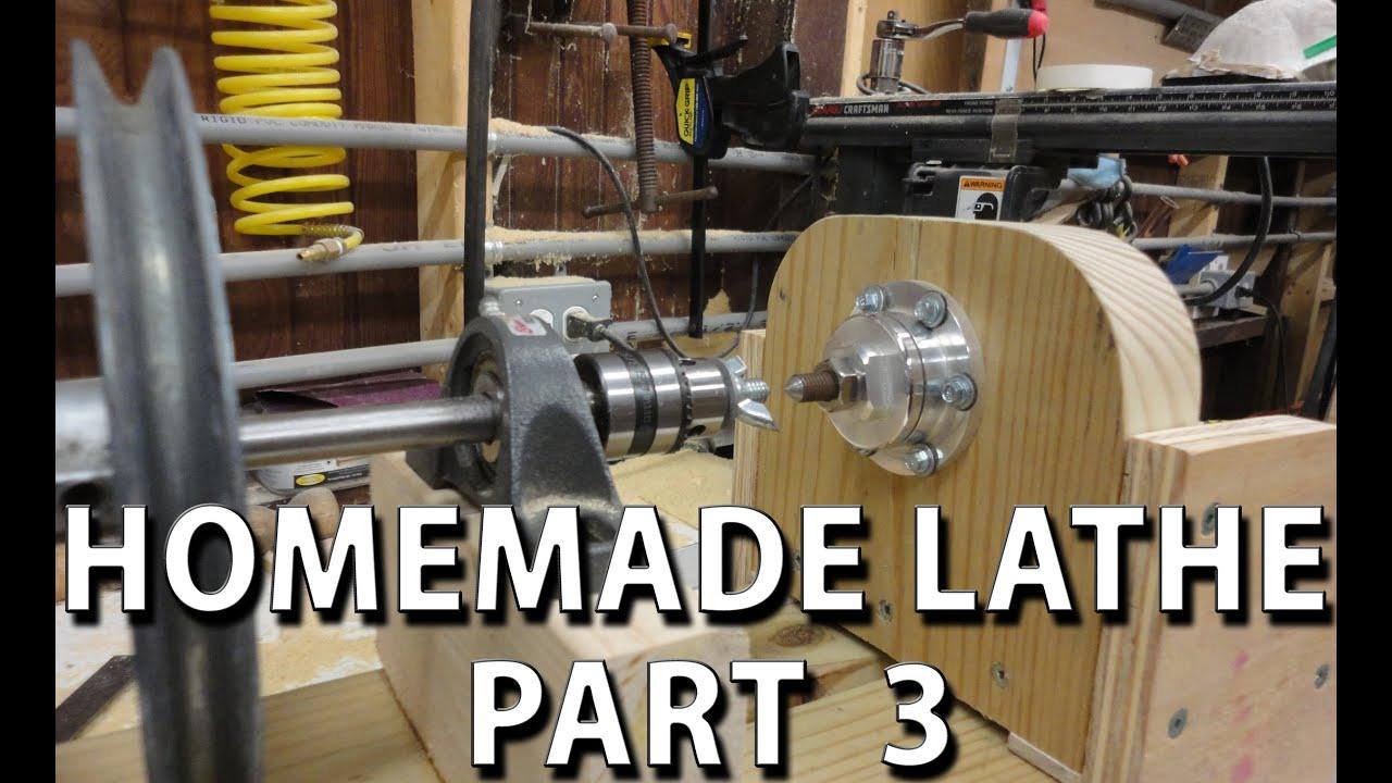 Homemade Lathe Part 3
