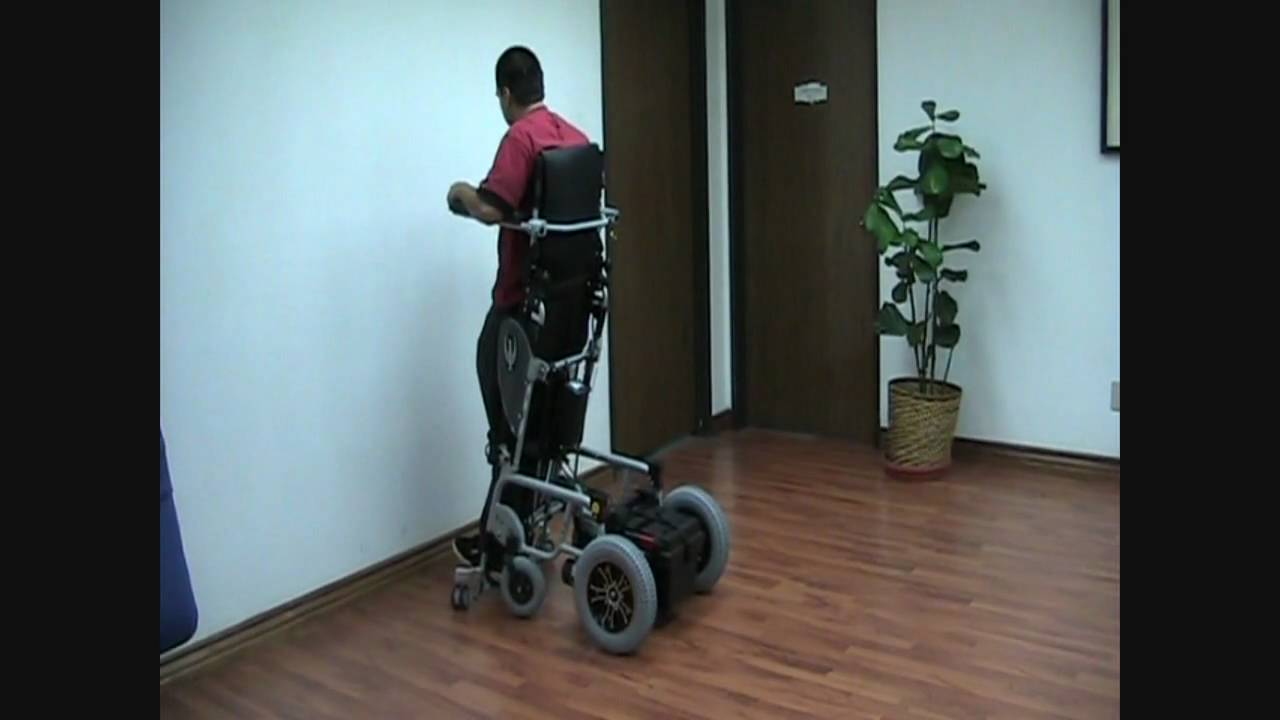 XO202 Power StandUp Power Wheelchair  YouTube