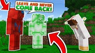 Minecraft Steve Saga - IM HATED BY THE STEVES