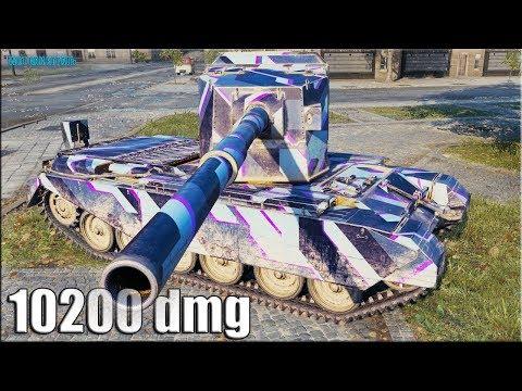 Нагиб в Париже FV4005 Stage II ✅ World of Tanks лучший бой патч 1.5.1