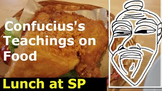 [Confucius Teachings on Food] Lunch at Singapore Polytechnic