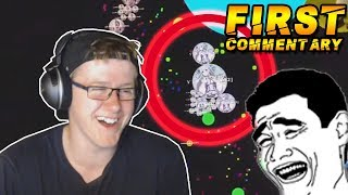 REACTING TO MY FIRST GOTA COMMENTARY!!! REACTING TO OLD VIDEOS (WEBCAM)