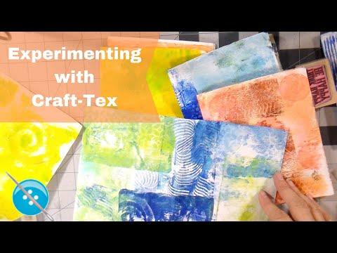 Making Art Journals With Kraft-Tex