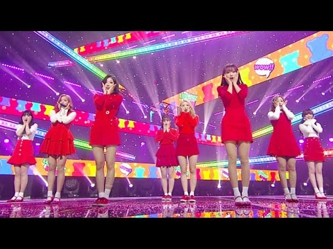 《EXCITING》 Lovelyz (러블리즈) - WoW! @인기가요 Inkigayo 20170402
