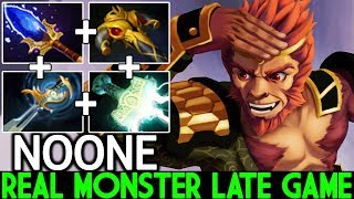 NOONE [Monkey King] Real Monster Against Pro Player Stack 7.22 Dota 2