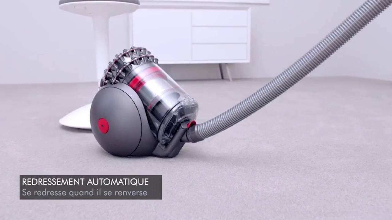 aspirateur tra neau sans sac dyson cinetic bigball but youtube. Black Bedroom Furniture Sets. Home Design Ideas