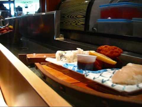 Having Lunch At Sushimaru In San Jose