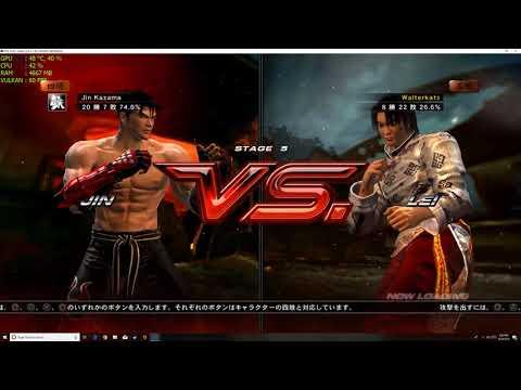 Tekken 6 Rpcs3 4k Full Speed 60fps - YouTube
