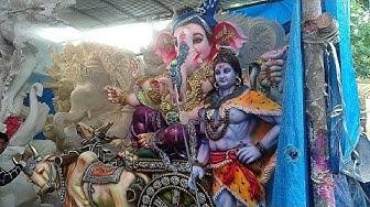 #solapur ganesh idols 2019 Dhoolpet ganesh idols part 32   machgiri tech