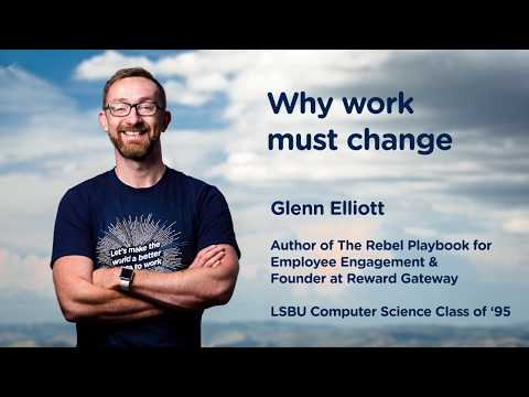 Why work must change – Employee engagement lecture at LSBU