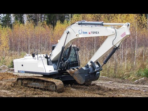 Tver excavator. The first 30-ton!