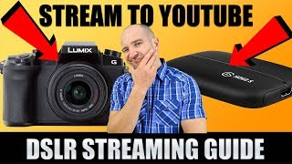 How to Stream a HDMI Video Camera to YouTube in 1080p