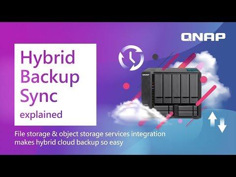 Hybrid Backup Sync: File storage & object storage services make hybrid  cloud backup so easy