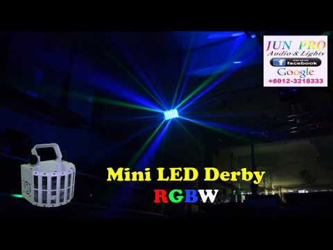 JUN PRO #LED Derby Mini @ ipoh # Karaoke room