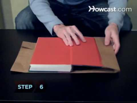 How to Cover a Textbook - YouTube