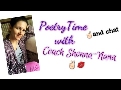 Poetry Time and Chat!