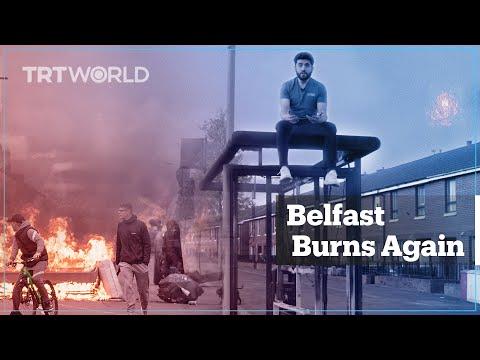 Belfast burns again