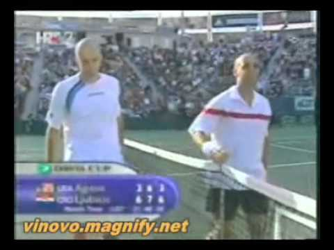 Davis Cup 2005 : USA vs Croatia  2-3
