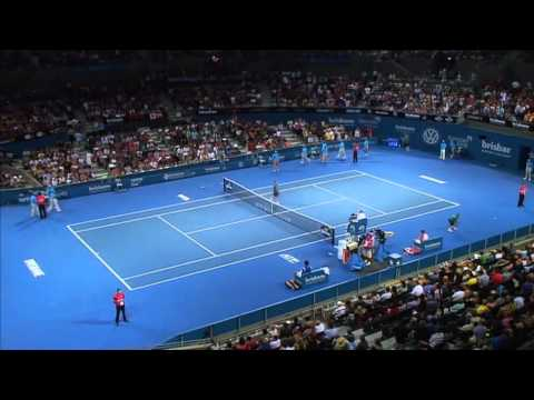 Grigor Dimitrov v Robin Haase - Full Match Men's Singles Round 1: Brisbane International 2014