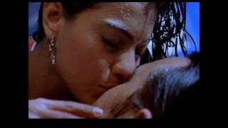 Kajol very hot lip kiss video