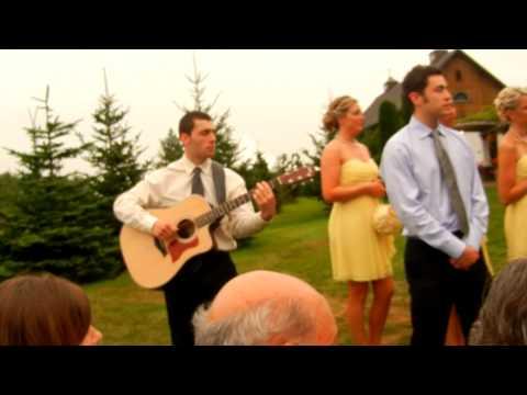 Ashley and Nick Ryans Wedding Song Make You Feel My Love Adele