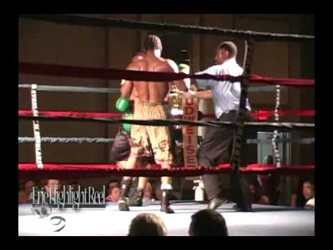 2008 Erie Boxing - Zach Page - Chuckie Brown (Round 4)