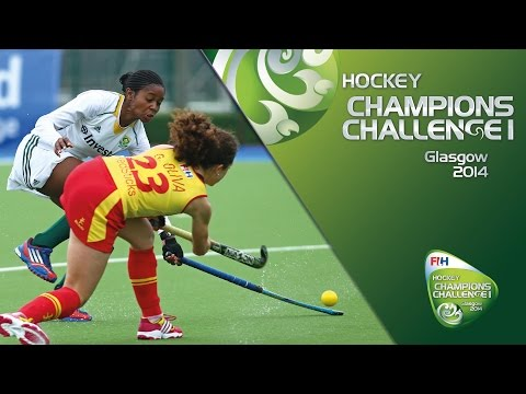 South Africa v Spain (3rd/4th Play-off) - Women's Champions Challenge I