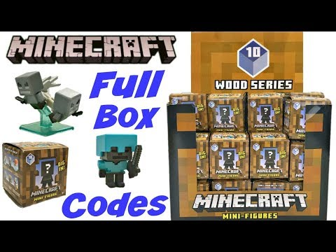 Minecraft Minifigures Craftables Series 2 Full Box Su