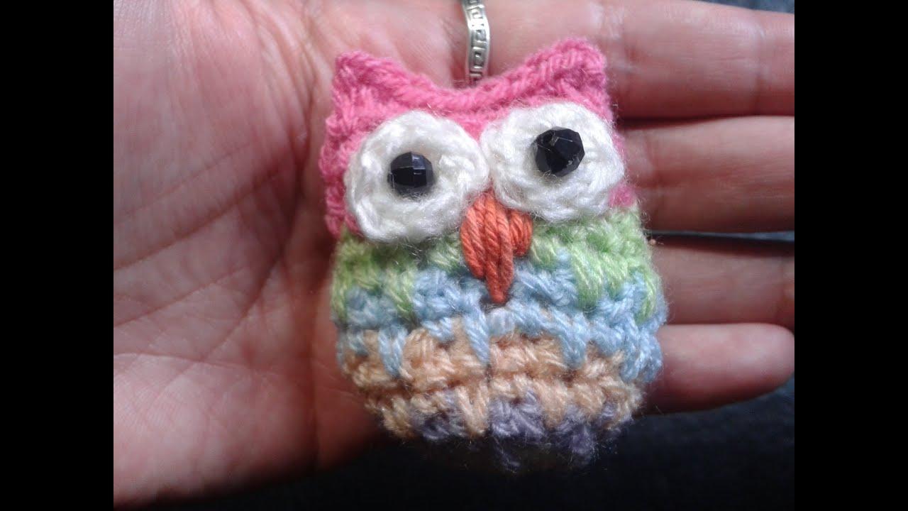 Como hacer un buho al crochet // Tejemos?! - YouTube