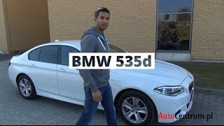[PL] BMW 535d xDrive 313 KM, 2013 - test AutoCentrum.pl