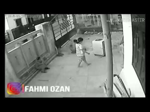 Detik Detik Terjelas Tsunami Palu Terekam CCTV Dipemukiman Warga Palu