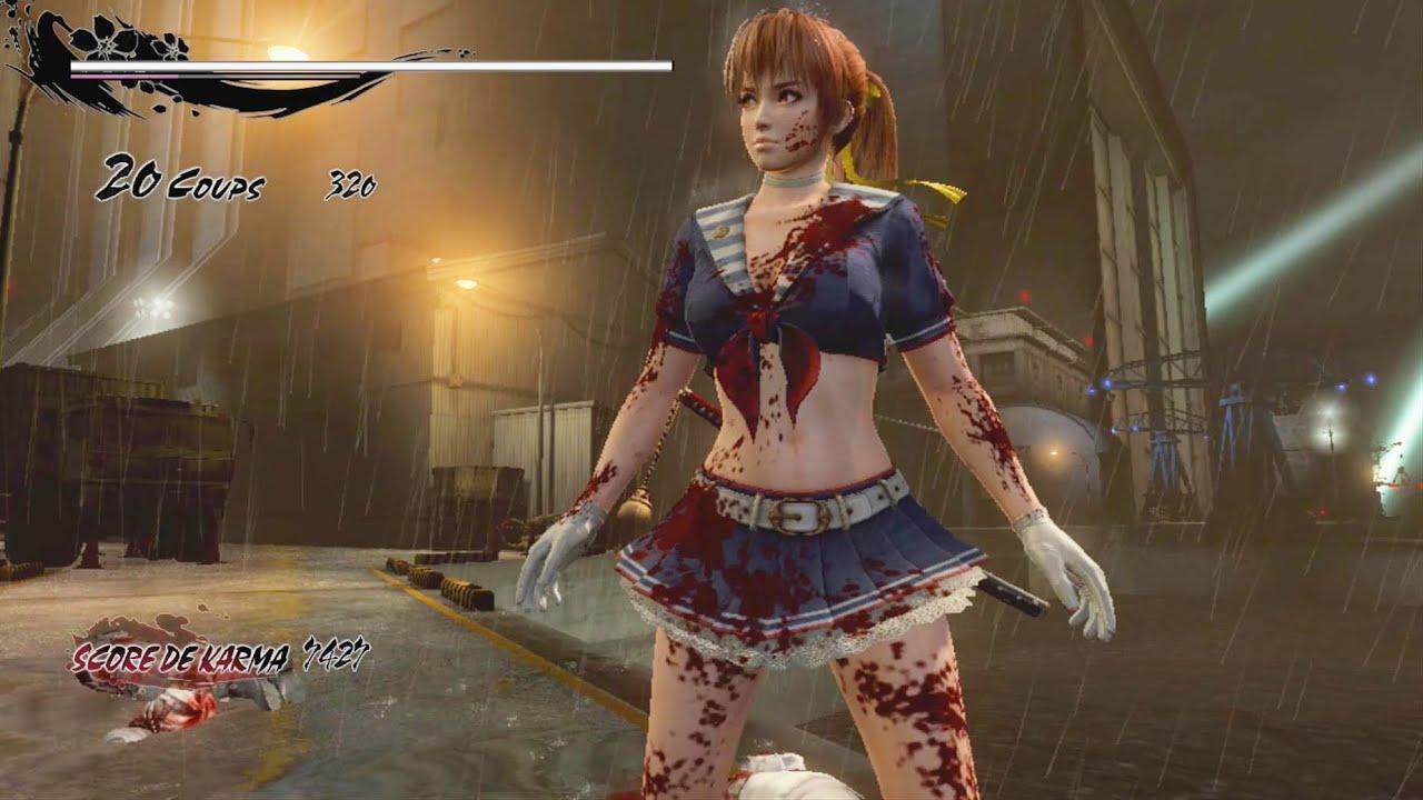 Kasumi S Ninja Gaiden 3 Razor S Edge Costumes Youtube