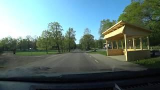 Sweden, Stockholm, driving from Campus Manila to Djurgårdsbrunn