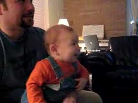Baby Laughing At The Wii