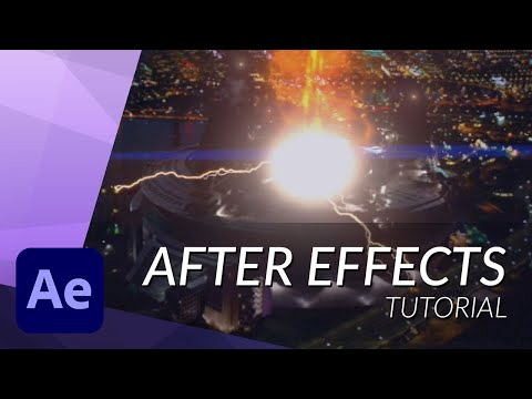 HOW TO CREATE THE PARTICLE ACCELERATOR FROM THE FLASH IN AFTER EFFECTS